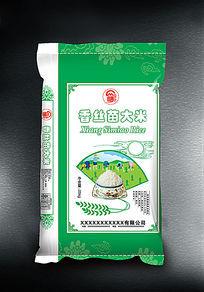 香丝苗大米袋子设计