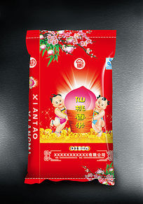 仙桃香米大米袋子包装