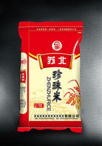 东北珍珠米包装设计