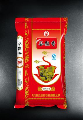 谷粒香高档大米包装