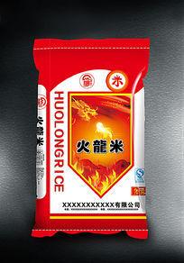 火龙米大米创意包装