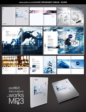 时尚企业画册素材 PSD