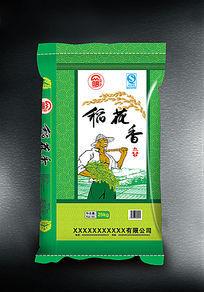 稻花香大米包装设计欣赏