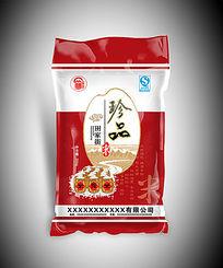 珍品大米粮食真空包装袋