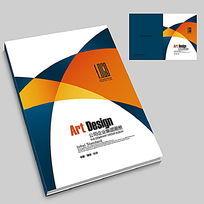 学校宣传册封面设计