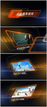简洁大气企业宣传视频ae模板