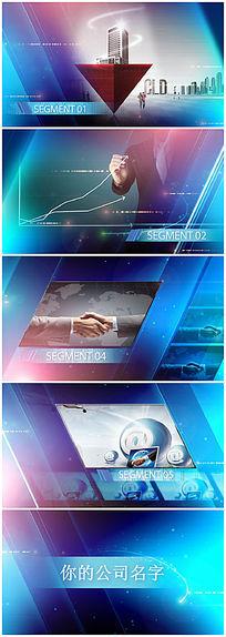 栏目包装产品展示视频模板