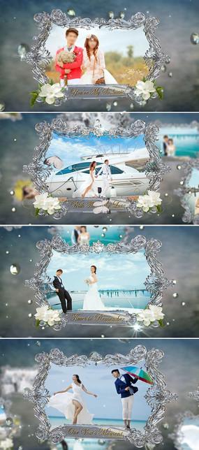 唯美婚礼婚庆视频ae模板