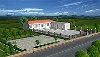 农家院设计3d模型