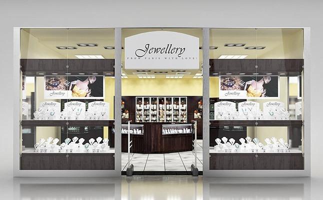 珠宝钻石专卖店3D模型+贴图