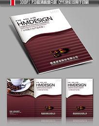 娱乐休闲咖啡餐饮画册封面设计