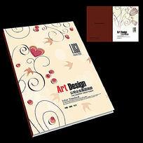 婚礼相册封面设计模板