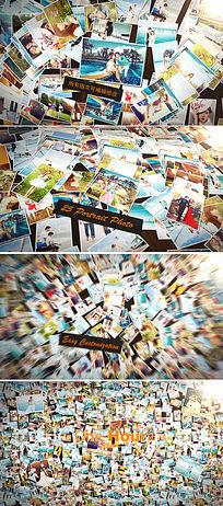 AE多张照片展示模板