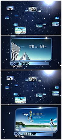 大气ae企业宣传片片头模板