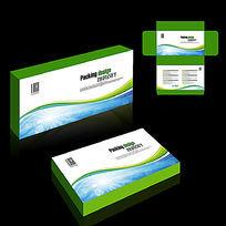 绿色清爽保健品包装设计