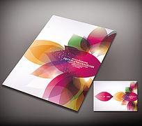 女性产品画册封面图片