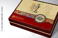 尊品情满金秋月饼盒设计