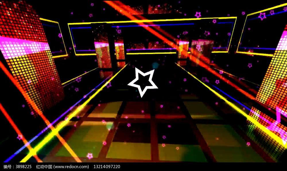 超动感舞台绚丽舞曲led视频背景图片