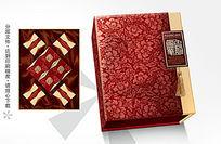 国色华韵月饼盒包装设计8个装