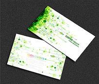 绿色生态名片