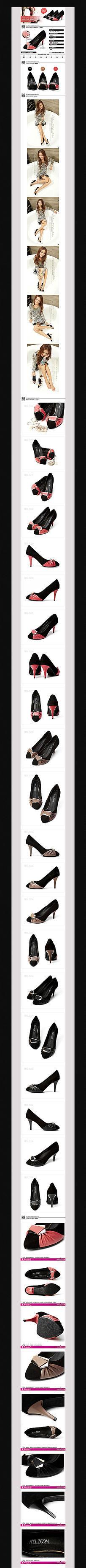 淘宝女士高跟鞋详情页细节描述图