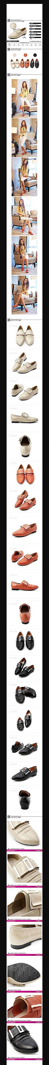 淘宝女士鞋详情页细节PSD素材模板