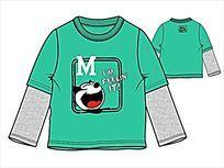 男童卫衣流行款式设计手稿