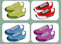 外贸休闲运动鞋设计稿 板鞋 流行运动鞋样设计