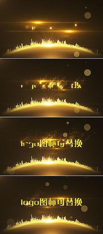大气商端房地产公司logo演绎视频AE模板