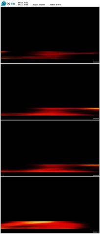 红色光线底纹字幕视频(带透明通道)