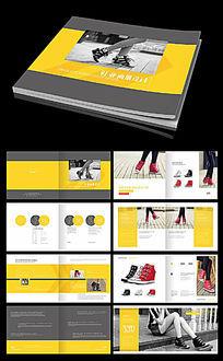 时尚女鞋欧美风鞋子画册设计