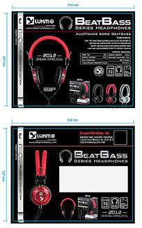 耳机产品宣传单页