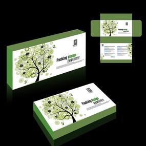 保健品包装盒模版
