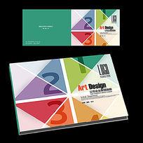 公司宣传册横版封面设计
