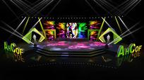 城市广场地产3d舞台模型下载