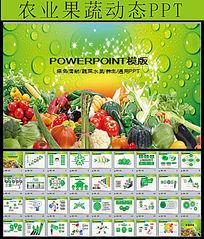 天然无公害农产品PPT模板