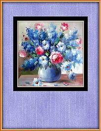 油画花卉静物装饰图