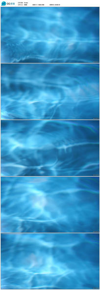 蓝色背景动态视频