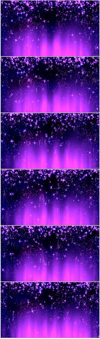 梦幻紫色光斑粒子LED舞台背景视频