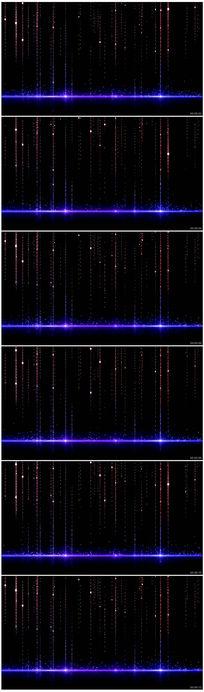 炫彩粒子动态视频背景