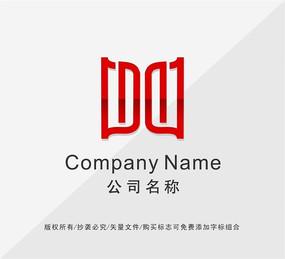 字母M标志设计
