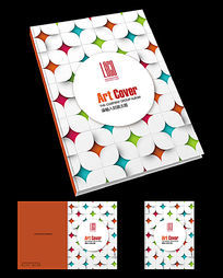简约室内设计画册封面模板