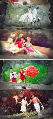 水墨婚礼视频AE模板