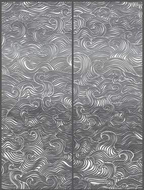 黑白花紋圖案