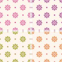 印花花型连续花样