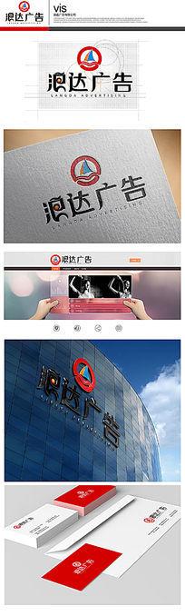广告传媒公司logo设计