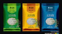 五谷杂粮袋子设计