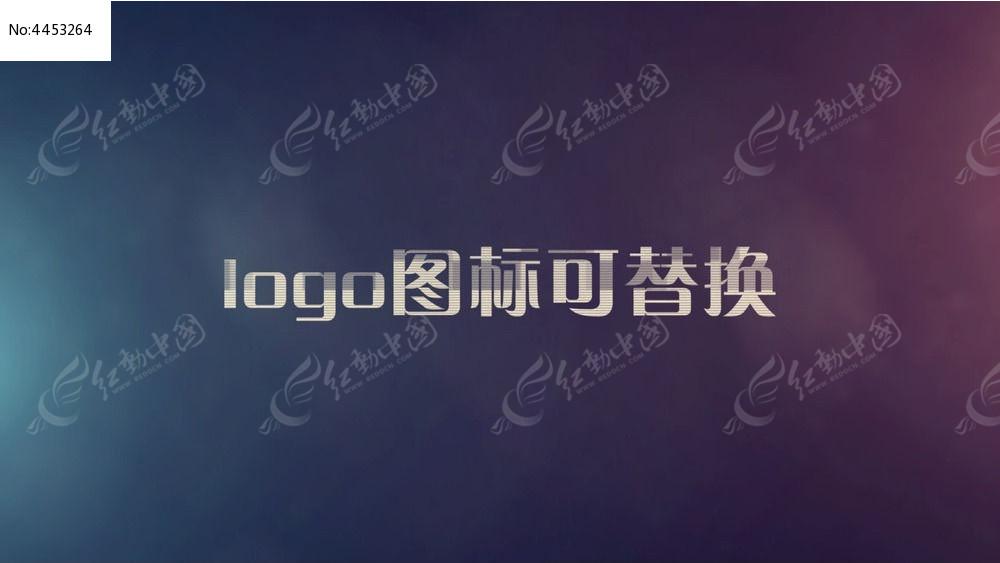 故障变形logo演绎ae片头模板