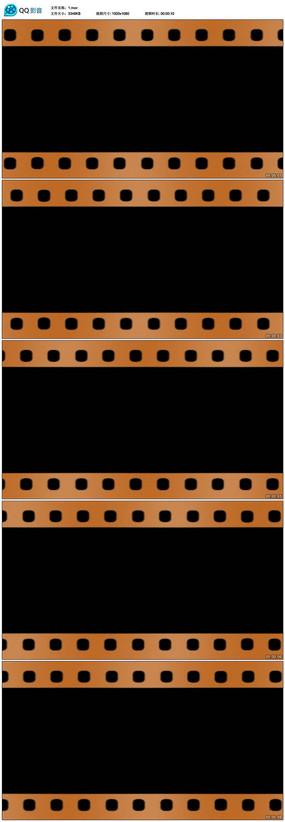 电影胶片边框