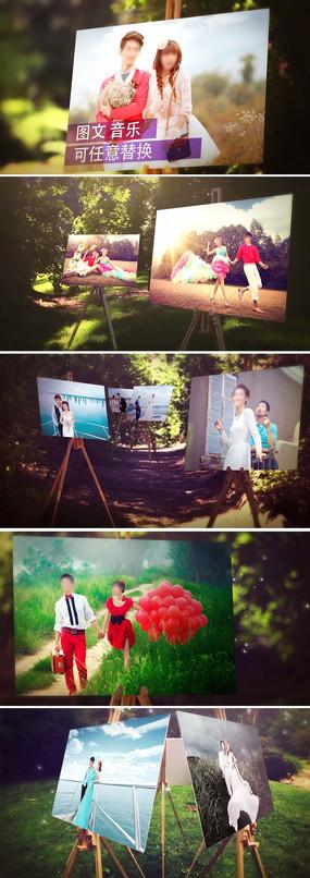 AE婚礼婚庆开场视频模板